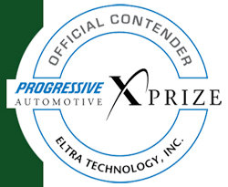 Official Contender in the Progressive Automotive XPrize Contest